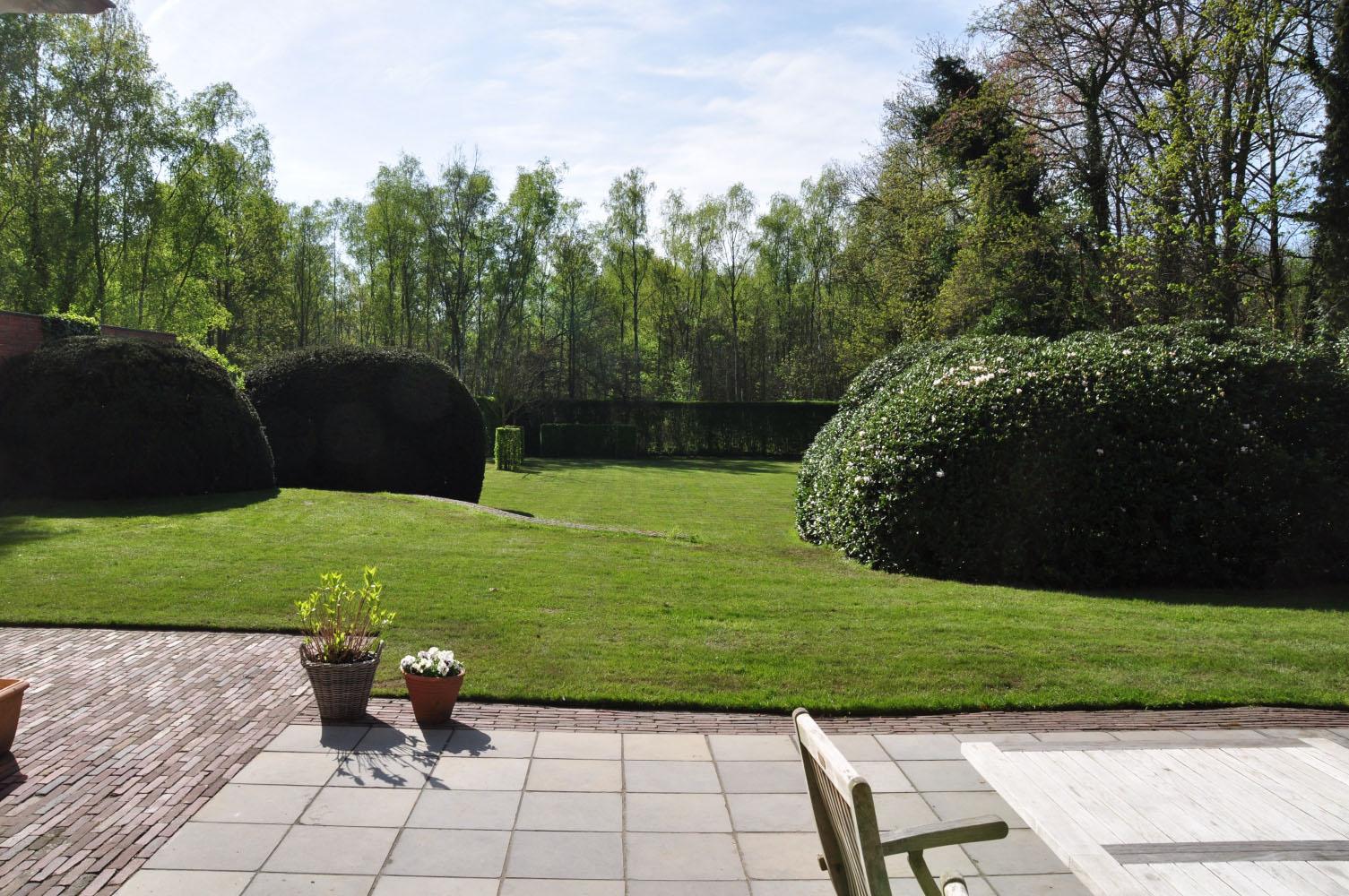Uitzonderlijk Aanleg landelijke tuinen - Voorbeelden landelijke tuinen - Tuin @ZF99